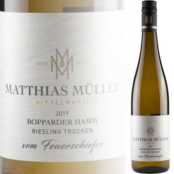 """Bopparder Hamm """"Vom Feuerschiefer"""" Riesling trocken (Matthias Müller)"""