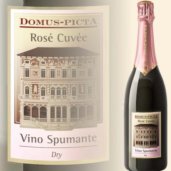 Rosé Spumante Dry (Domus-Picta)