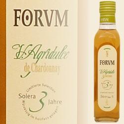 FORUM Chardonnay Essig Agridulce 3 Jahre, 0,5 L (Augustus Forum)