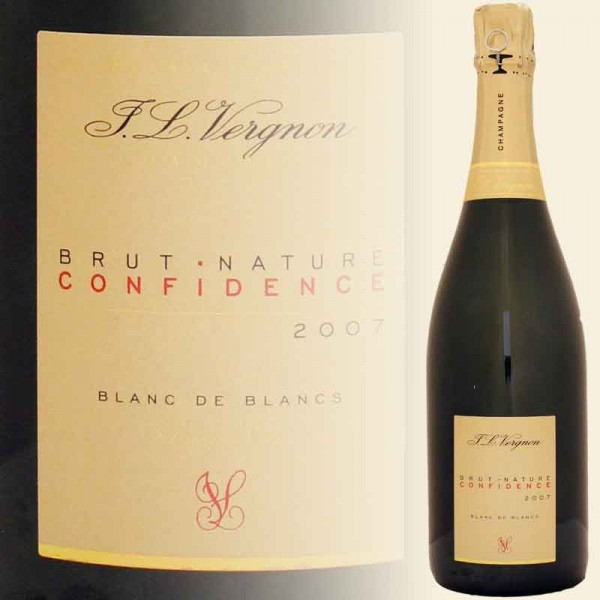 CONFIDENCE Champagner 2010 Brut Nature,Grand Cru - Blanc de Blanc (J. L. Vergnon)