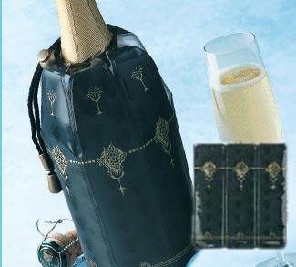Geschenkset Rapid Ice-Kühler: 1 x Weinkühler und 1 x Champagnerkühler (Vacu Vin)