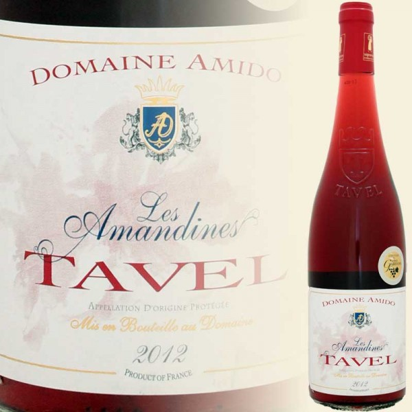TAVEL Rose Les Amandines (Domaine Amido)