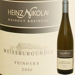 Weißburgunder feinherb (Heinz Nikolai)