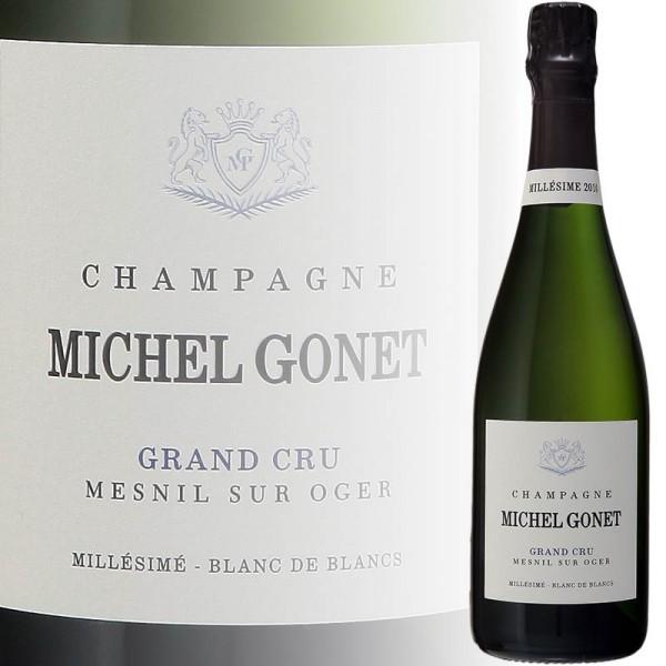 Champagner Grand Cru, Millésimé Blanc de Blancs, Zero Dosage (Michel Gonet)
