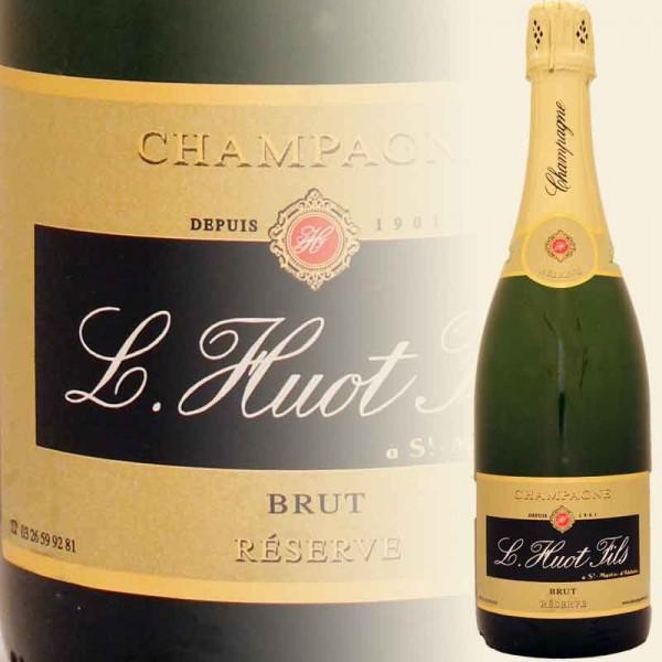 Champagner Brut Reserve (L. Huot)