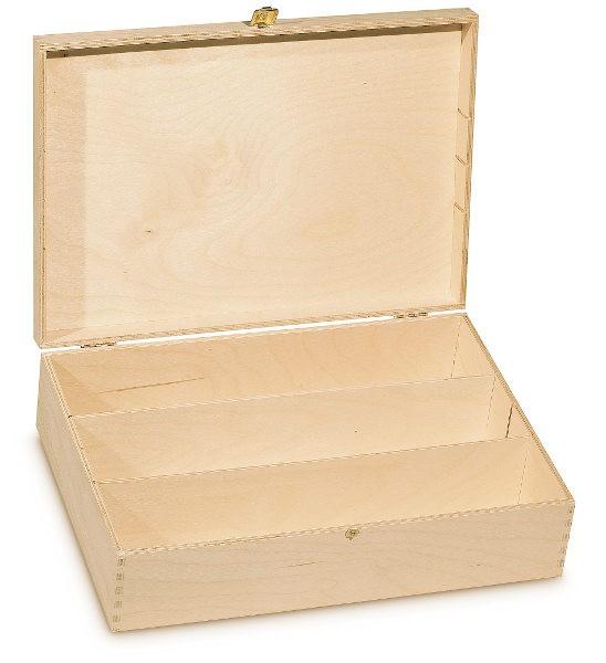 3er Geschenkverpackung Holz
