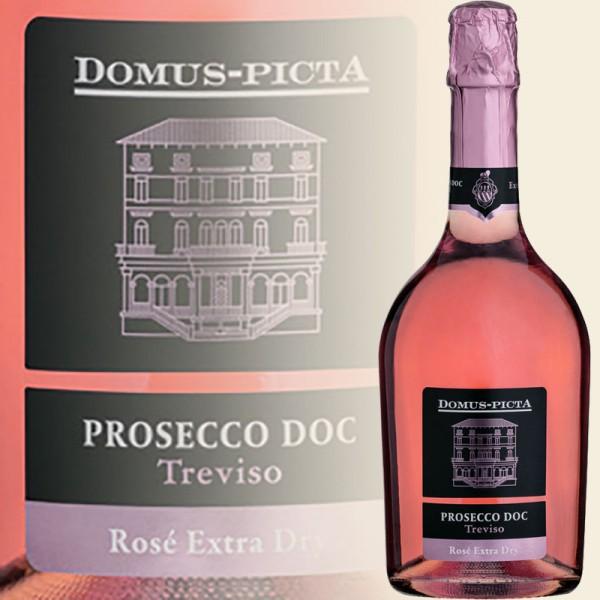 Rosé Spumante Extra Dry, Treviso DOC (Domus-Picta)