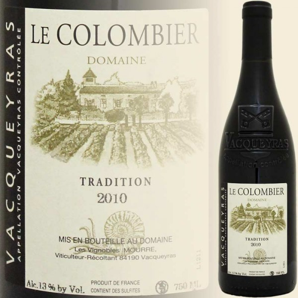Vaqueyras Tradition Rouge (Domaine Le Colombier)