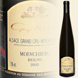 Moenchberg, Riesling Grand Cru classé (Domaine des Marronniers)