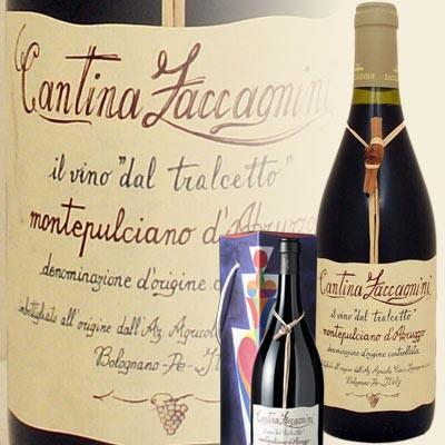 """Montepulciano d`Abruzzo """"Tralcetto"""" Doppel-Magnum in Präsentkarton (Cantina Zaccagnini)"""