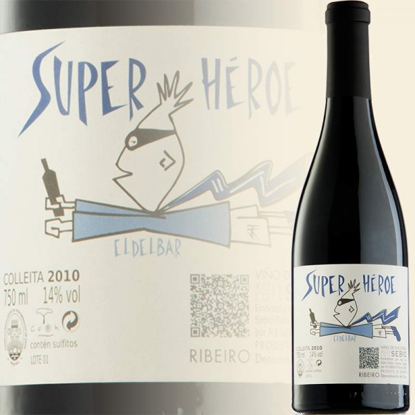 Superhéroe Tinto, X.L. Sebio