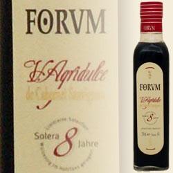 FORUM Cabernet Sauvignon Essig Agridulce 8 Jahre, 0,5 L (Augustus Forum)