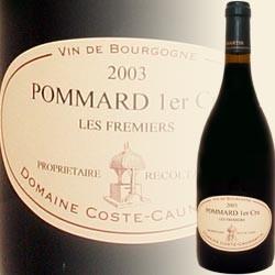 Pommard 1er Cru, Les Fremiers (Domaine Coste Caumartin)