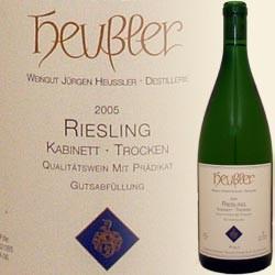 Riesling trocken Literflasche (Jürgen Heußler)