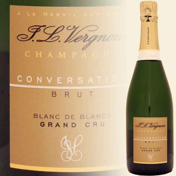 CONVERSATION Brut Champagner Grand Cru - Blanc de Blanc, demi (J. L. Vergnon)