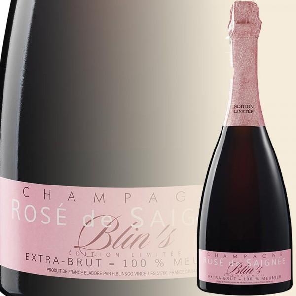 Champagne Blin`s Rosé Saignée