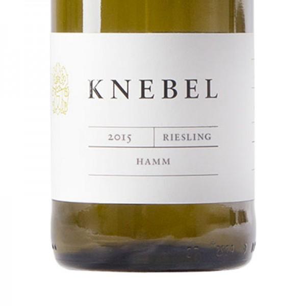 Riesling Hamm 2015 (Knebel)