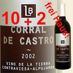 10+2 ANGEBOT Corral de Castro 2012 (Bodegas Los Barrancos)