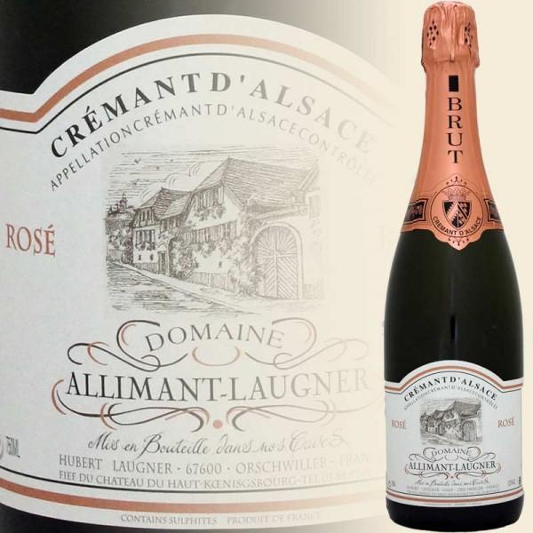 Crémant d`Alsace Rosé Brut (Domaine Allimant-Laugner)