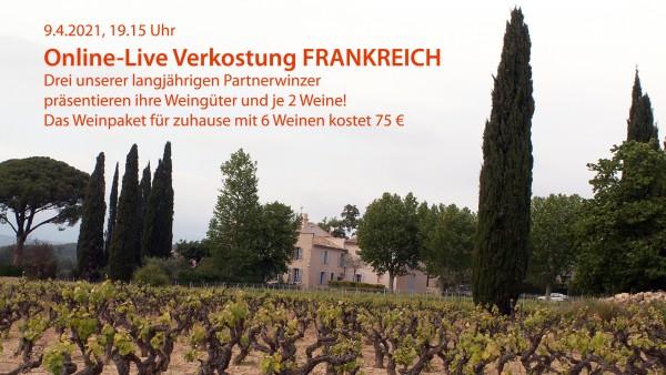 """Probenpaket zum Online-Tasting """"Gardasee-Trentino"""" mit Franco Olivetti"""