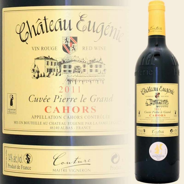 Cahors Cuvee Pierre le Grand (Chateau Eugenie)
