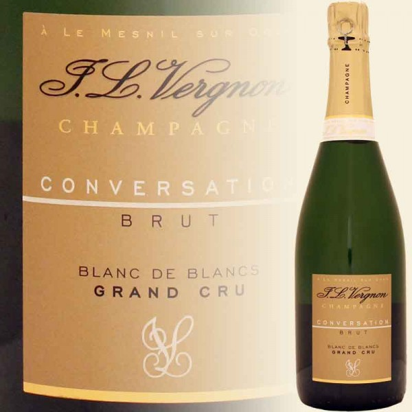 CONVERSATION Brut Champagner Grand Cru - Blanc de Blanc (J. L. Vergnon)