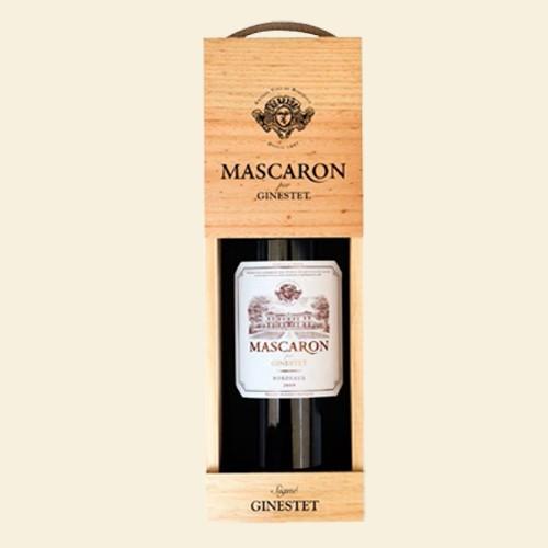 Mascaron Bordeaux Rouge MAGNUM in Holzkiste (Ginestet)
