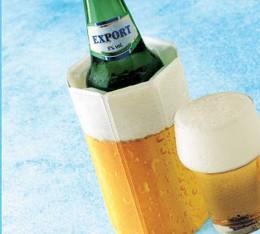 Bierdosen und 0,33 - 0,5l Flaschenkühler Rapid Ice! (Vacu Vin)